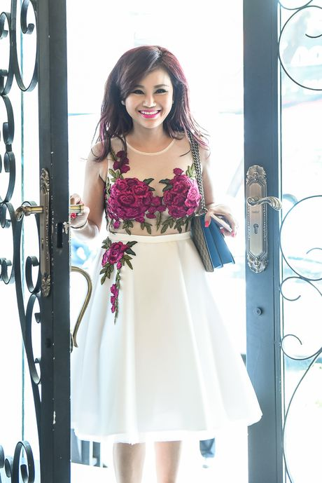 Pham Thanh Thao ve nuoc chuc mung Lam Hung ra mat album - Anh 8