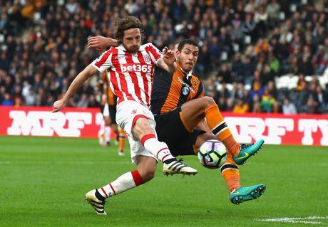 Ibra va Pogba ket hop cung chao thua tien ve Stoke City - Anh 2