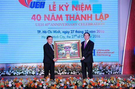 Dai hoc Kinh te ky niem 40 nam thanh lap - Anh 1