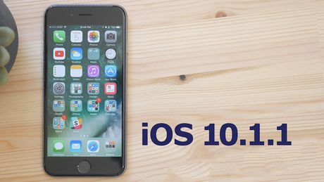 Apple cap toc ra mat ban va loi iOS 10.1.1 - Anh 1