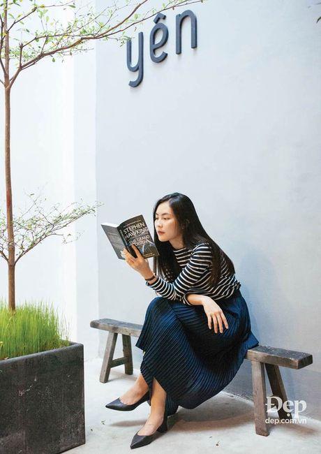 Helly Tong: Trong rau, doc sach va an chay - Anh 4