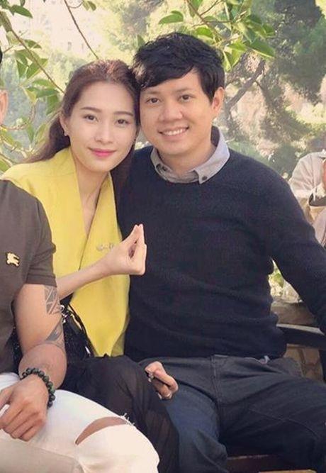 Buoc tien moi tren con duong tinh yeu cua Hoa hau Thu Thao va ban trai dai gia - Anh 1