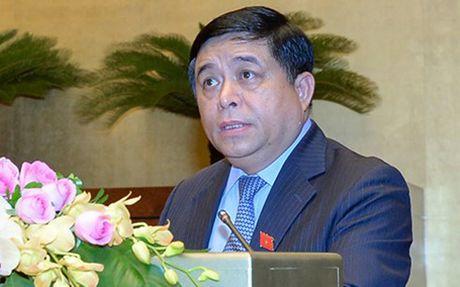 Bo truong Nguyen Chi Dung giai trinh ve dau tu cong trung han - Anh 3