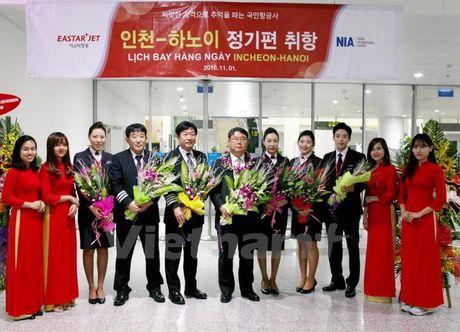 Hang hang khong Eastar Jet chinh thuc mo them duong bay Incheon-Ha Noi - Anh 2