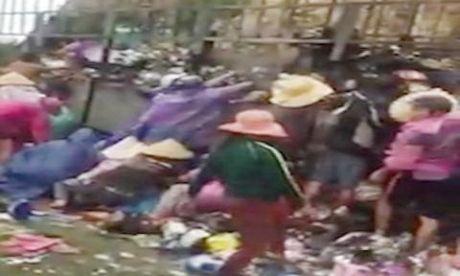 Binh Dinh: Tai xe khoc, dan cuoi dua hoi cua - Anh 1