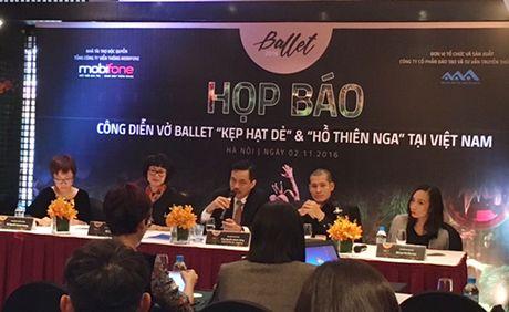 Hai vo ballet noi tieng the gioi den Viet Nam vao dau thang 12 - Anh 1