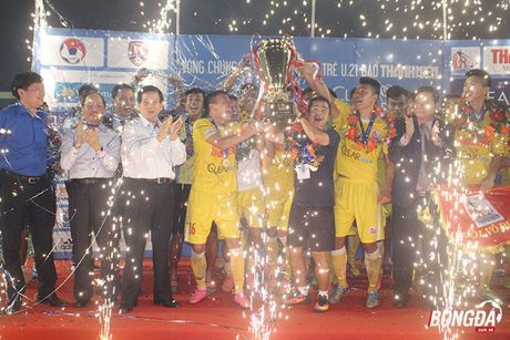 'Di nhan' U19 Viet Nam giup U21 Ha Noi T&T len ngoi vo dich - Anh 1