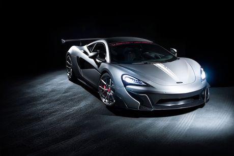 Sieu xe gia re McLaren 570S 'khung' hon nho Vorsteiner - Anh 1