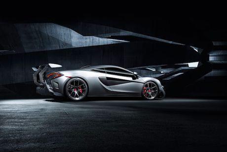 Sieu xe gia re McLaren 570S 'khung' hon nho Vorsteiner - Anh 3