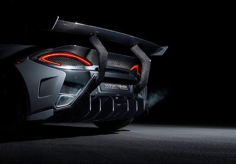 Sieu xe gia re McLaren 570S 'khung' hon nho Vorsteiner - Anh 4