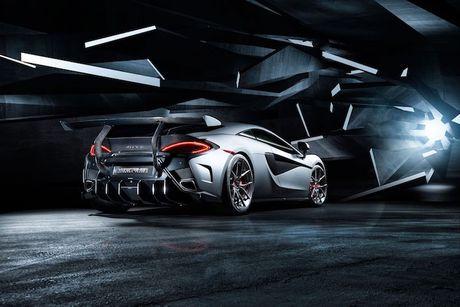 Sieu xe gia re McLaren 570S 'khung' hon nho Vorsteiner - Anh 6