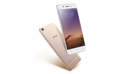 Tan binh selfie moi Vivo Y55 - Anh 1