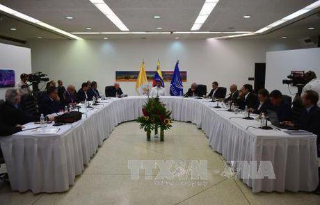 No luc tim loi thoat cho khung hoang tai Venezuela - Anh 1
