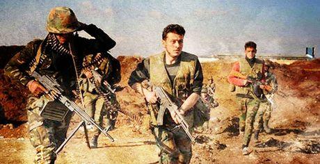 Quan doi Syria giai phong thi tran chien luoc o dong Ghouta - Anh 1