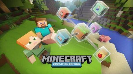 Trai nghiem hoc nhap vai qua phien ban Minecraft giao duc tien tien - Anh 1