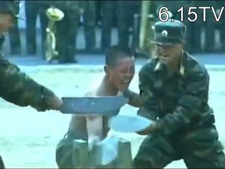 Kung-fu linh Trieu Tien: Dao, sat, da…chi la xop - Anh 1