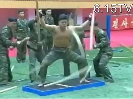 Kung-fu linh Trieu Tien: Dao, sat, da…chi la xop - Anh 4