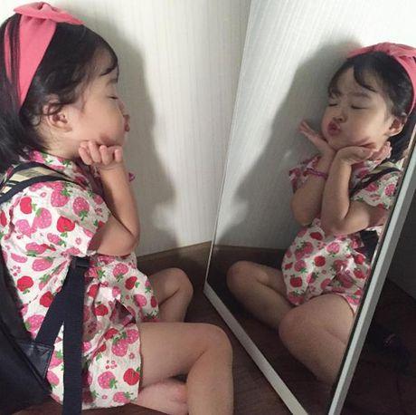 Ngan ngo truoc co be Han Quoc 'ma banh bao' dang gay sot tren mang xa hoi - Anh 3