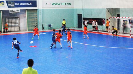 Soi dong giai Futsal Nu TPHCM 2016 - Anh 3