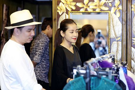 Chi Pu doi style ca tinh voi trang phuc cua NTK Xuan Le - Anh 10