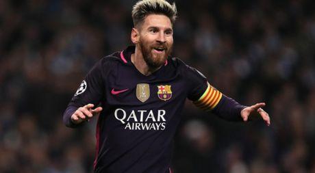 Messi lap ky luc moi du Barca nga ngua truoc Man City - Anh 1