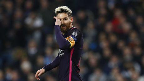 Messi lap ky luc moi du Barca nga ngua truoc Man City - Anh 2