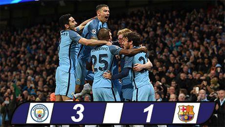 Messi ghi ban, Barca van tham bai truoc Man City tai Etihad - Anh 1