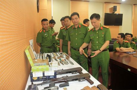 Bo truong Cong an gui thu khen pha vu an no sung giet nhan vien nha nghi - Anh 1