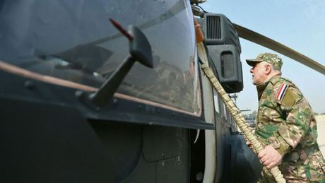 Thu tuong Iraq ra thong diep manh me cho IS tai Mosul - Anh 1