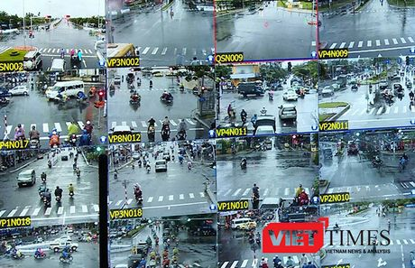 Da Nang: Ngay dau phat nguoi bang camera, xu ly 36 truong hop - Anh 2