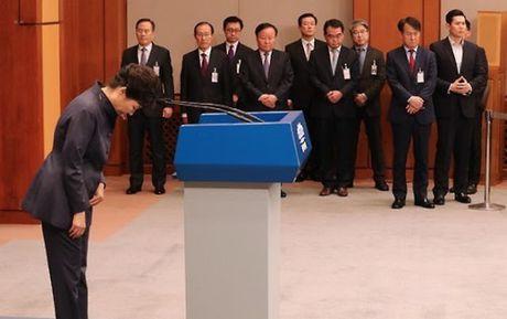 Tong thong Han Quoc Park Geun-hye cai to noi cac giua song gio scandal - Anh 1