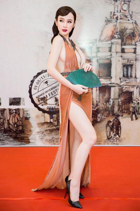 Angela Phuong Trinh bi moi khoi tham do vi mac qua bao, tao dang qua lau - Anh 5