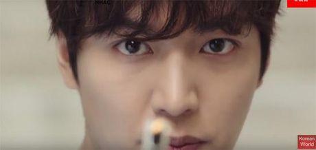 Lee Min Ho bien hoa nhu tac ke hoa trong teaser moi cua Huyen thoai bien xanh - Anh 3