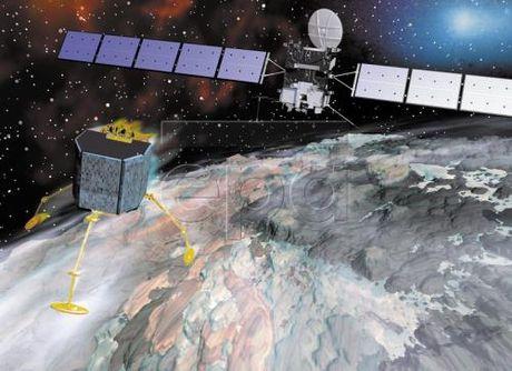 Tau vu tru Rosetta hoan tat su menh tham hiem Sao Choi - Anh 1