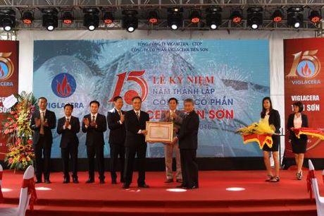 Viglacera Tien Son vuot tren 150% ke hoach san xuat kinh doanh - Anh 1
