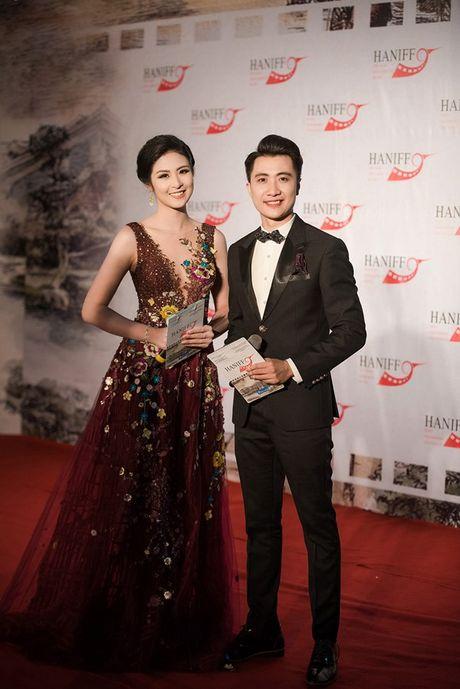 Hoa hau Ngoc Han long lay lam MC Lien hoan phim quoc te Ha Noi - Anh 2