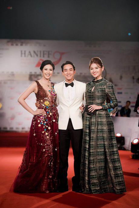 Hoa hau Ngoc Han long lay lam MC Lien hoan phim quoc te Ha Noi - Anh 4