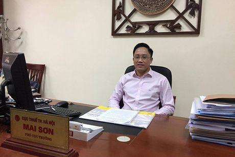 Lanh dao Cuc thue Ha Noi: Chua dieu chinh phi truoc ba xe ban tai - Anh 1