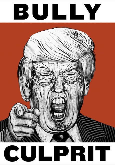 Trump, Clinton: Tran trui va day khieu khich - Anh 1