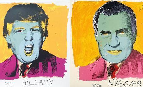Trump, Clinton: Tran trui va day khieu khich - Anh 8