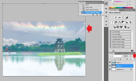 Huong dan long ghep anh trong Photoshop theo cach chuyen nghiep - Anh 3
