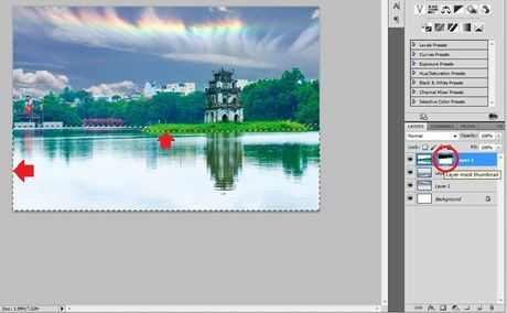 Huong dan long ghep anh trong Photoshop theo cach chuyen nghiep - Anh 8
