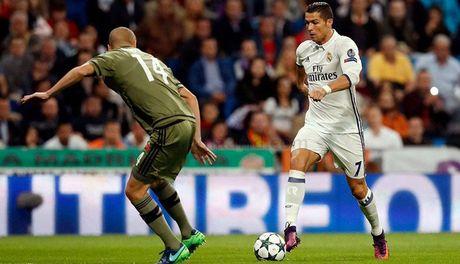 Ronaldo dat ca chau Au duoi chan minh - Anh 1