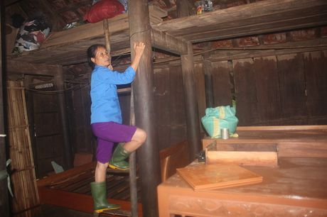 Quang Binh: Lu chong lu, dan bai hoai don nha - Anh 1
