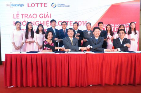 LOTTE danh 1 trieu USD ho tro cong dong startup Viet Nam - Anh 1