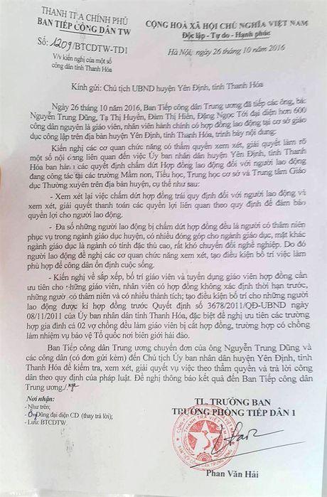 Thanh tra Chinh phu len tieng vu hon 600 lao dong vo co bi mat viec - Anh 2