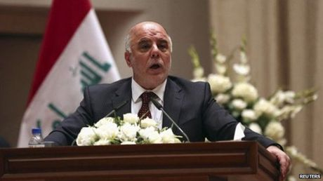 Thu tuong Iraq keu goi IS tai Mosul dau hang - Anh 1