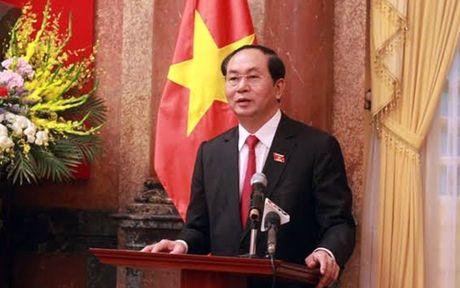 Chu tich nuoc gap mat doan dai bieu nganh than va tinh Quang Ninh - Anh 2