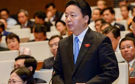Bo truong Tran Hong Ha: Moi truong da het nguong chiu dung - Anh 1