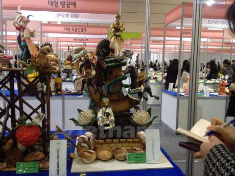 Chiem nguong nghe thuat tao hinh tu banh tai Seoul Food Week - Anh 3